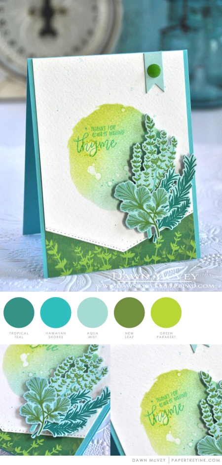 Making Thyme by Dawn McVey for Papertrey Ink