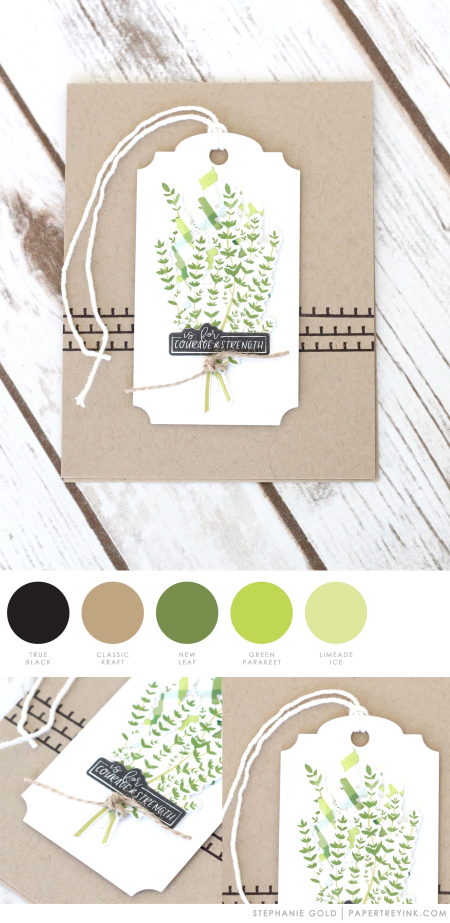 Herb Garden by Stephanie Gold for Papertrey Ink