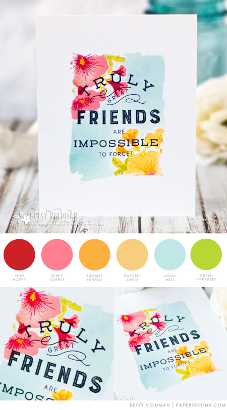 Great Friends by Betsy Veldman for Papertrey Ink