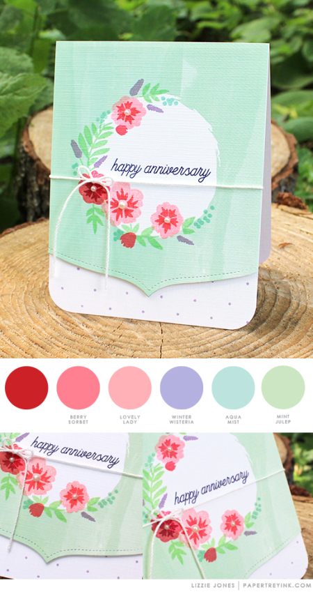Anniversary by Lizzie Jones for Papertrey Ink