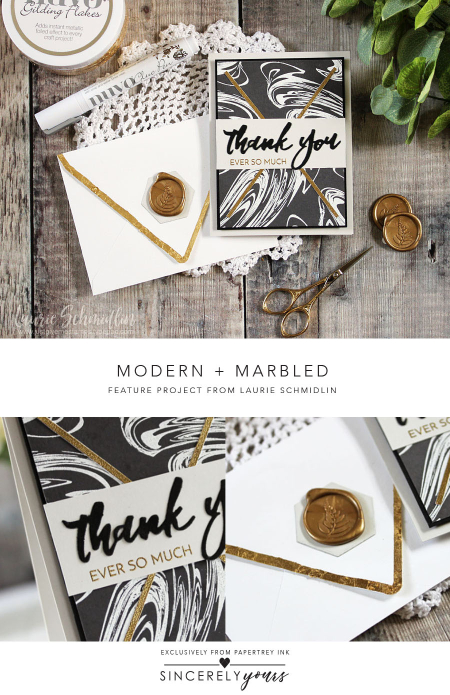 Modern + Marbled 2 by Laurie Schmidlin for Papertrey Ink