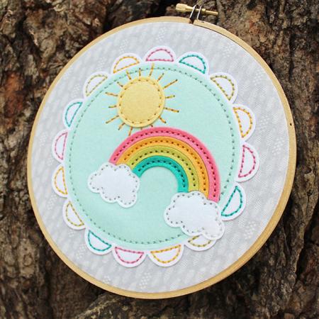 Sunshine & Rainbows Hoop 2