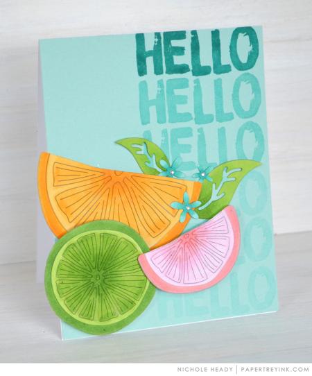 Citrus Hello Card