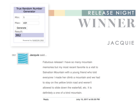 Release-night-winner