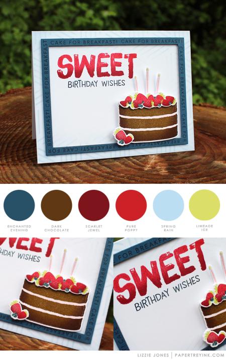 Sweet Birthday by Lizzie Jones for Papertrey Ink