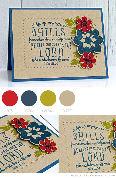 Psalms by Michelle Leone for Papertrey Ink