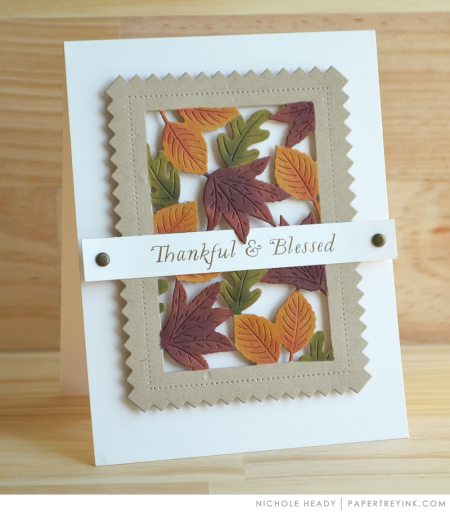 Thankful & Blessed Card