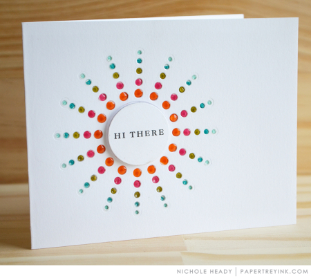Hi There Card