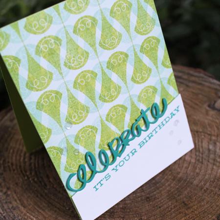 Celebrate Your Birthday Card 3