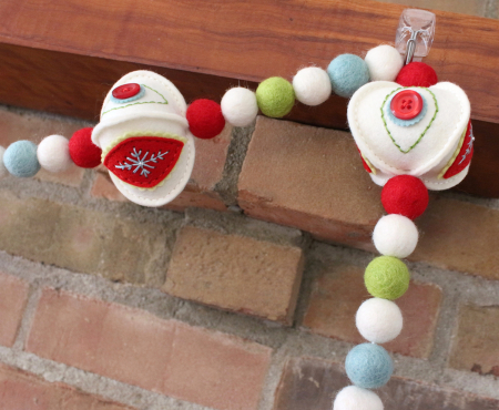 Stitched Ornament Garland 4