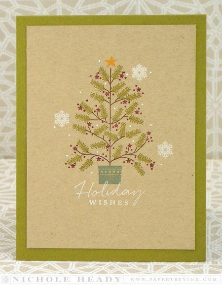 Homespun Holiday Wishes Card