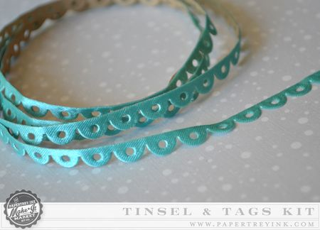 Scalloped ribbon