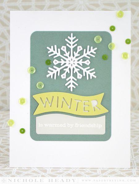 Winter Friendship Card