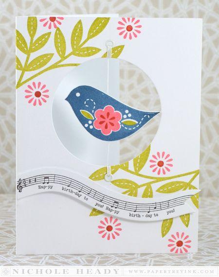 Birthday Birdie Card