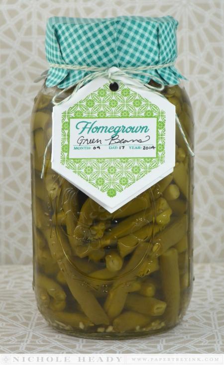Homegrown Green Beans Packaging