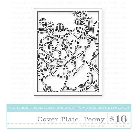Cover-Plate-Peony-die