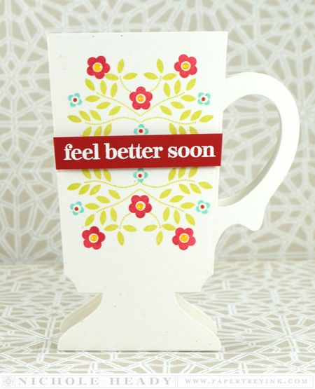 Feel Better Sonn Floral Card