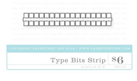 Type-Bits-Strip-die