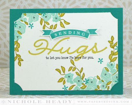 Sending Hugs Card