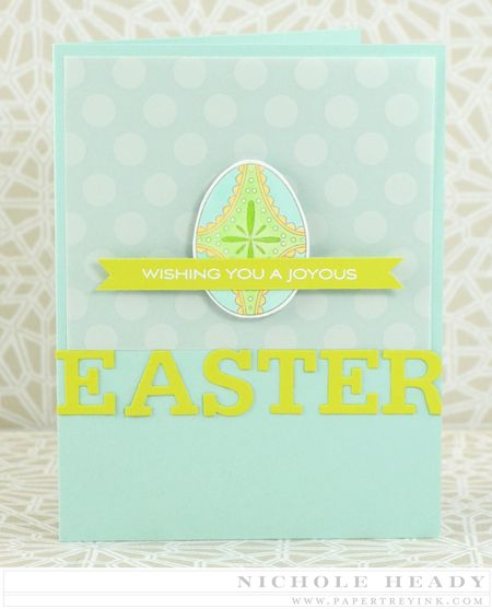 Joyous Easter card
