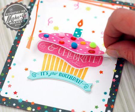 Cupcake flap open