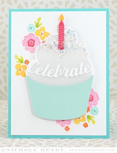 Celebration Cupcake Card