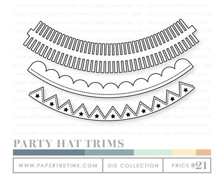 Party-hat-trims-dies