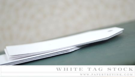 White Tag Stock