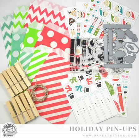 Holiday Pin-Ups Kit