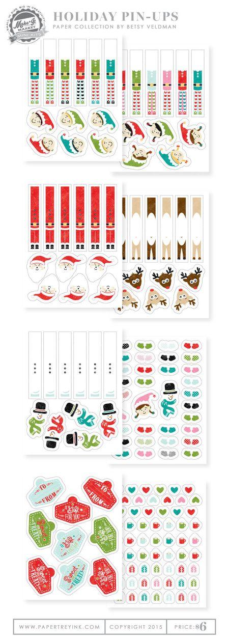 Holiday-Pin-Ups-refill-paper