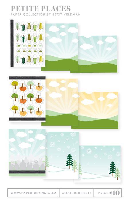 Petite-Places-paper-collection