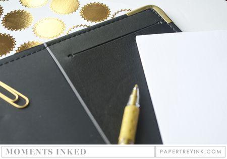 Notepad slit