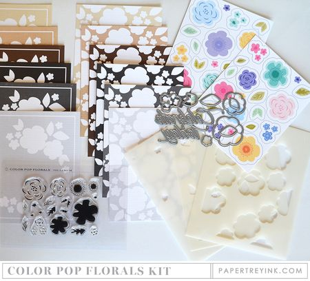 Color Pop Florals Kit