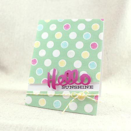 MIM239 - Hello Sunshine Card