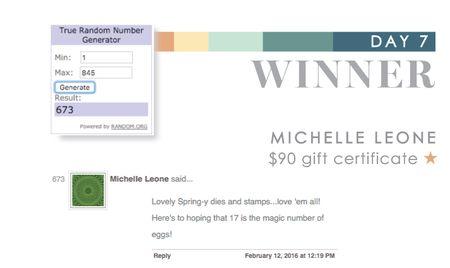 Day 7 Michelle