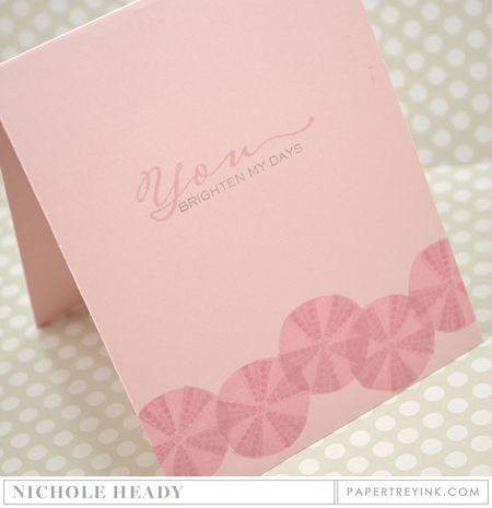 Urchin Shimmer Card