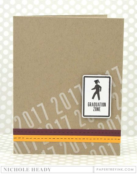 Graduation Zone card