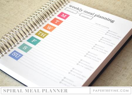 Spiral Meal Planner
