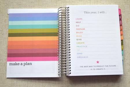 Make a plan spread