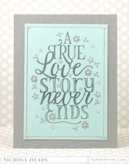 True Love Story Card