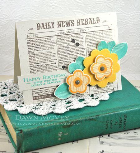 Background Basics Newsprint - Dawn