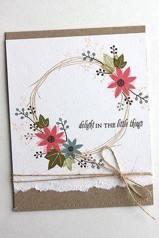 Twig Wreath - Heather