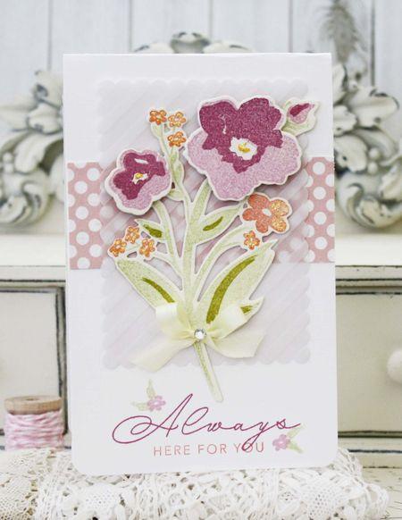 Brushed Blooms - Melissa