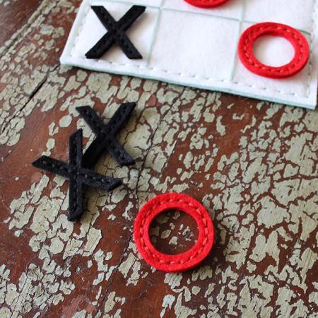 Lizzie Jones Tic Tac Toe Game Pieces