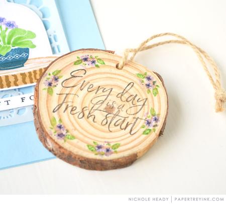 Wood keepsake