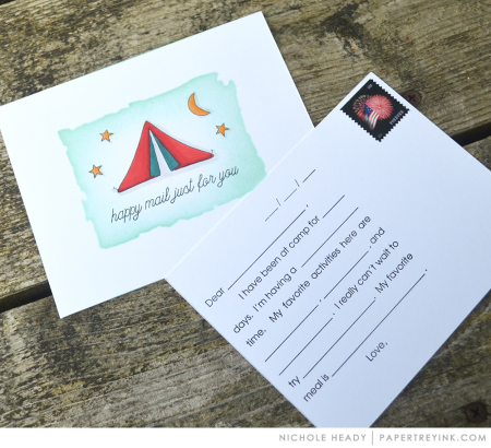 Camp Postcards