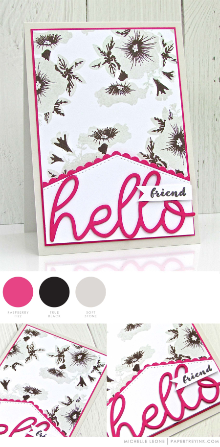 Hello Friend by Michelle Leone for Papertrey Ink