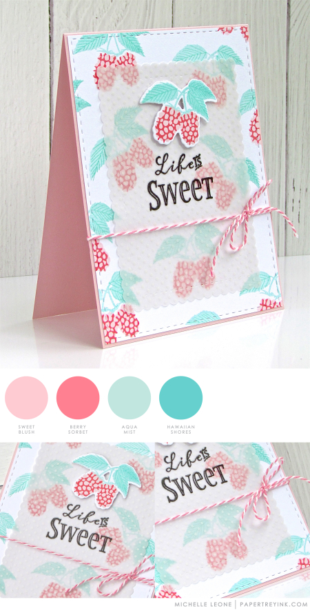 Life is Sweet by Michelle Leone for Papertrey Ink