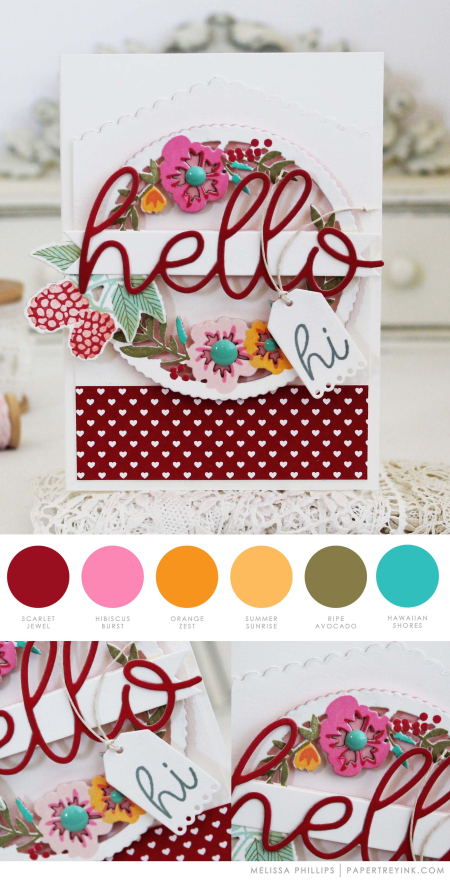 Hello by Melissa Phillips for Papertrey Ink