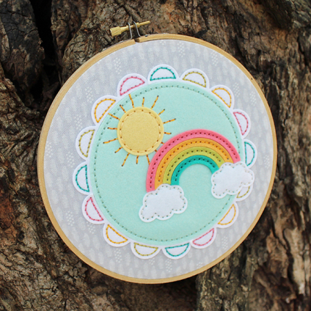 Sunshine & Rainbows Hoop 5